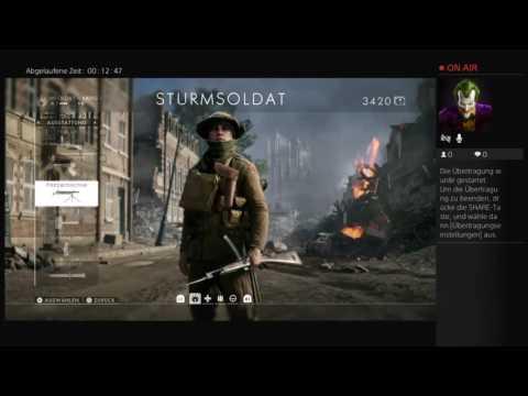 PS4-Live Matzingers Gaming Halle Let's Play Battlefield1 Vorherrschaft