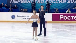 Ксения Ахантьева Валерий Колесов Короткая программа Пары Первенство России по фигурному катанию