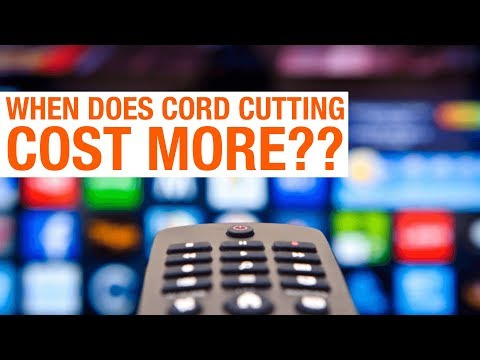 Does cord cutting save money?  Not always.