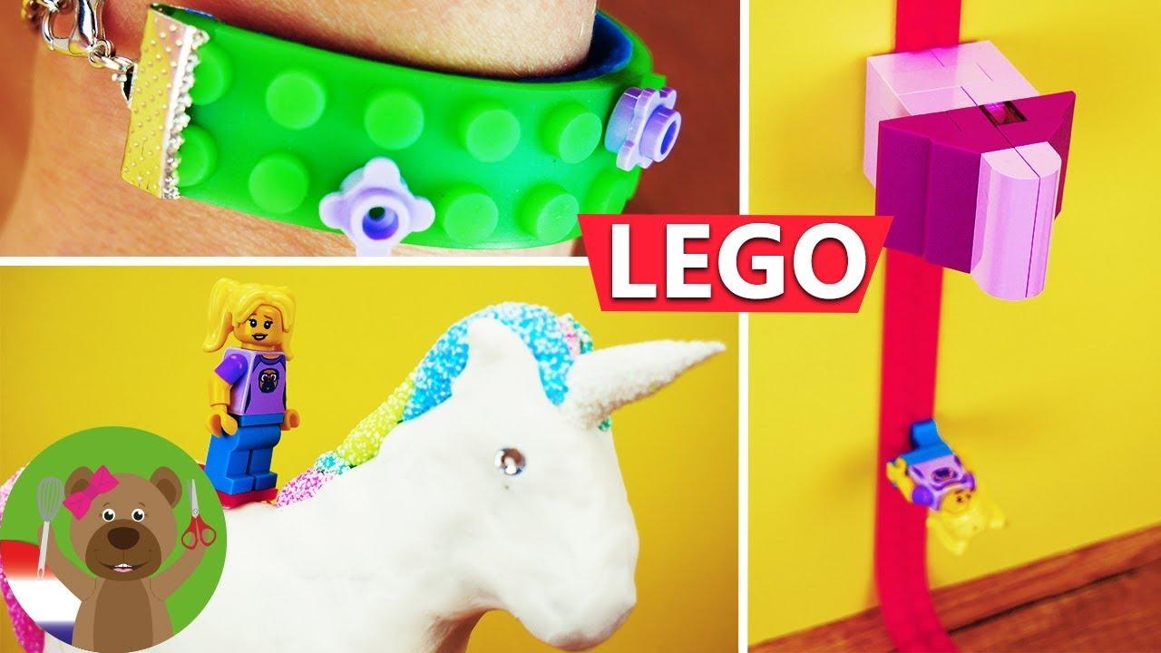 3 Lego Hacks Met Lego Tape Tips Tricks Om Te Spelen Te