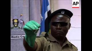 Police presser on bombings, security, reax, headlines