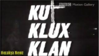 """1965 CBS NEWS SPECIAL REPORT: """"KU KLUX KLAN: The Invisible Empire""""(EXTREMELY RACIST)"""