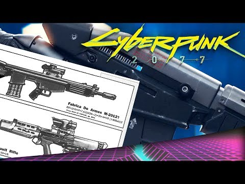 Cyberpunk 2077 - All Possible Weapons ANALYSED (Guns, Bows, Katanas)