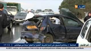 وفاة 4 أشخاص وجرح 28 آخرين في حوادث مرور خلال 24 ساعةالأخيرة
