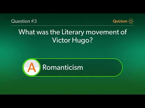Victor Hugo Quiz   Where was Victor Hugo born? and more questions