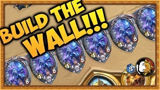 Hearthstone: BUILD THE WALL - Heal Druid - Rise Of Shadows