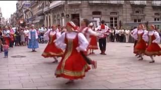 Russian folk dance: Владимирская Топотуха - Vladimirskaya Topotukha