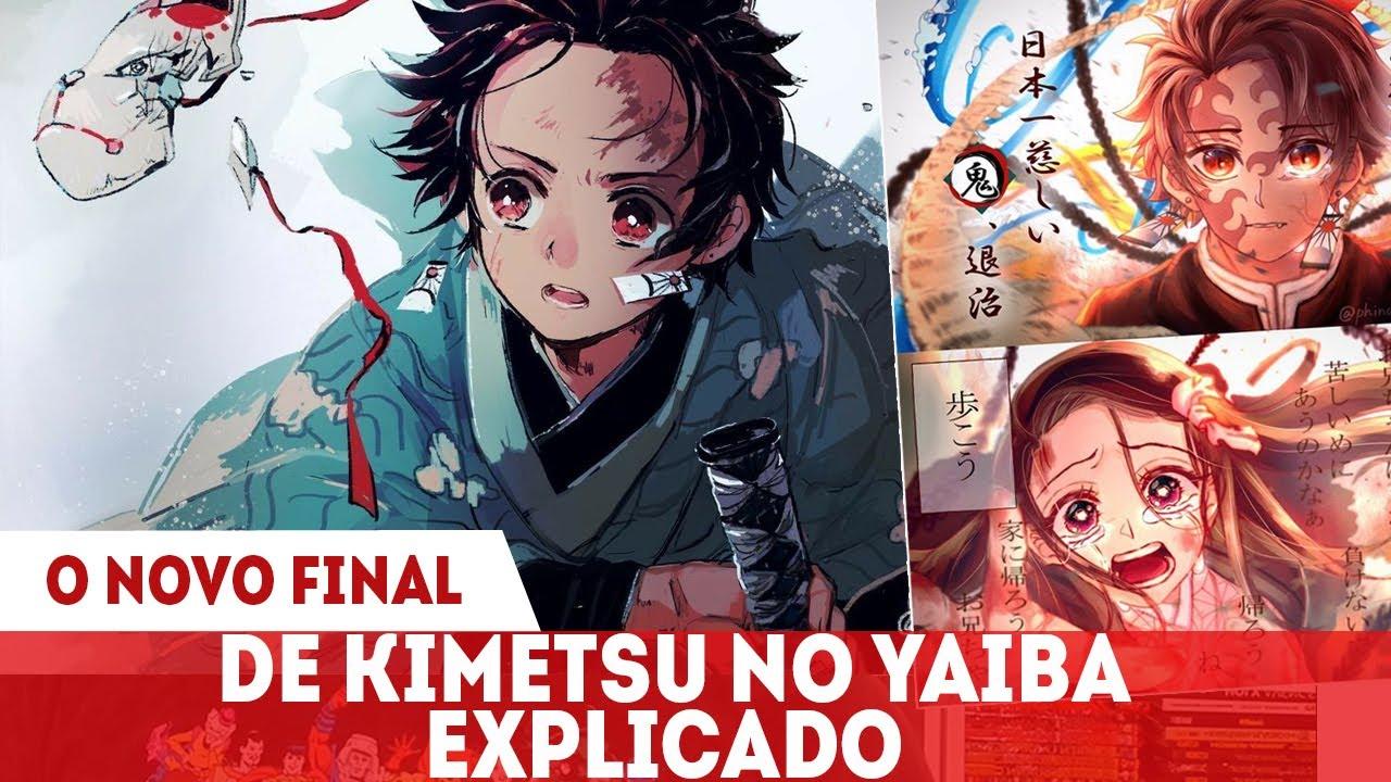 O FINAL EXTRA DE KIMETSU NO YAIBA EXPLICADO E COMO ELE MUDA TUDO- kimetsu no Yaiba 205.6