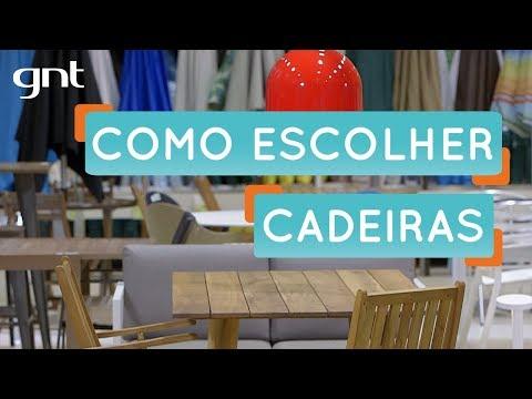 Como escolher cadeiras para combinar com a mesa | Dica de Reforma | Decora | Maurício Arruda
