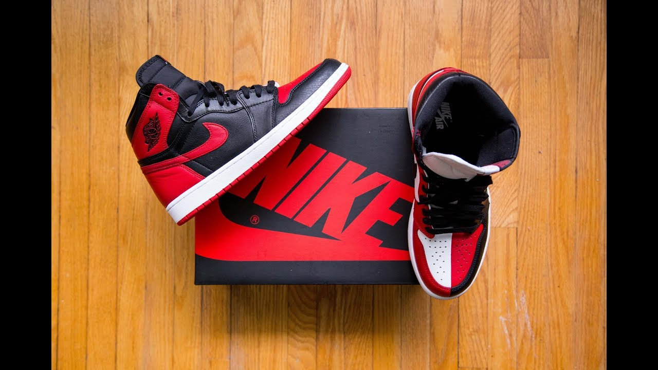 sports shoes 9b34e a16fa Clown shoes with INSANE leather 🤡    Air Jordan 1 Retro High OG Homage to  Home Review and On Feet