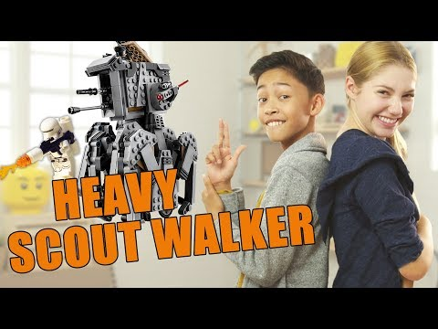LEGO Star Wars Heavy Scout Walker Unboxing - The Build Zone