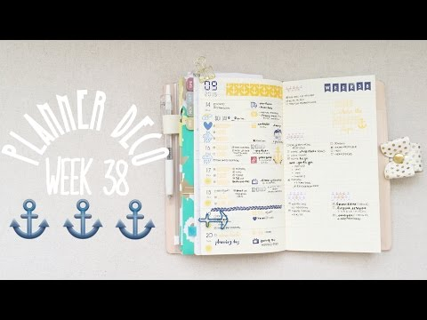 Planner Deco Week 38 & Turn Out (Sweetdori/Fauxdori)