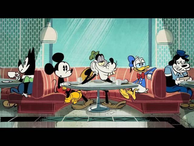 Mickey Mouse | Goofy's Eerste Liefde | Disney NL