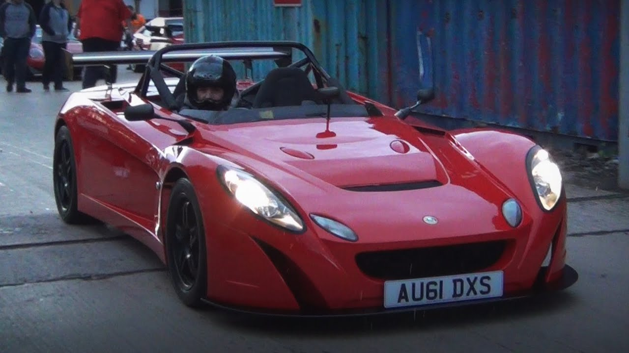 VERY RARE Lotus 2 Eleven Start Up + on the Road - YouTube