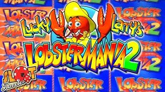 ★ Max Bet Slot Play on Lobstermania 2 ★ BIG WIN + Progressives and Bonus! | Slot Traveler