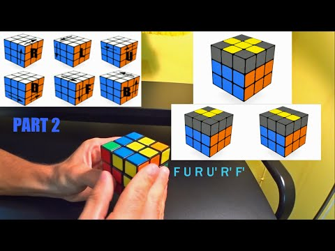 Rubik's Cube 3rd Layer Solve | Only 4 Algorithms | Beginner Method