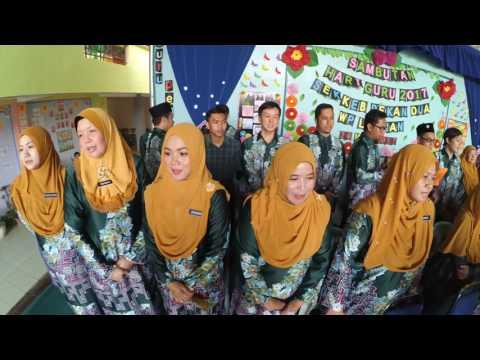 SAMBUTAN HARI GURU SKPD 2017- NYANYIAN LAGU KAMI GURU MALAYSIA
