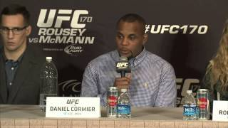UFC 170: Pre-fight Press Conference