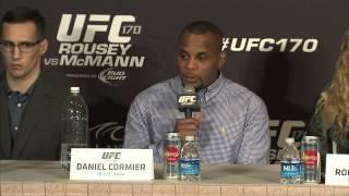 UFC 170: Pre-fight Press Conference