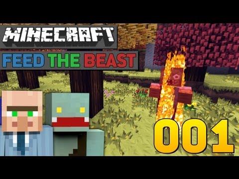 BEGINN DER REISE! - #1 - Minecraft Feed The Beast