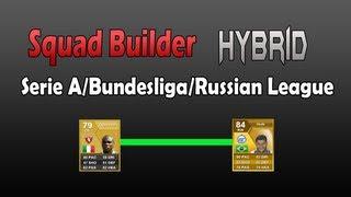 Fifa 13 Squad Builder - Hybrid Serie A/Bundesliga/Russian League
