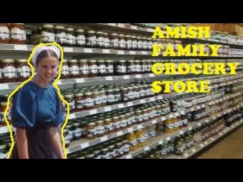 A Real Amish Family Grocery Store