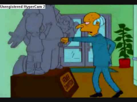 Mr Burns and his Dupstep album. - YouTube
