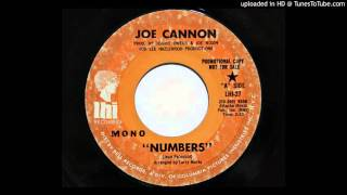 Joe Cannon - Numbers (LHI 27)
