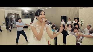 Калмыцкая свадьба. Невеста поет жениху. Неожиданный подарок
