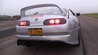 1000HP Toyota Supra SRD1000 - BRUTAL ACCELERATIONS!