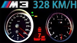 BMW M3 G-Power Acceleration 0-328 V8 Sound Onboard Autobahn V8 Aulitzky Tuning Exhaust
