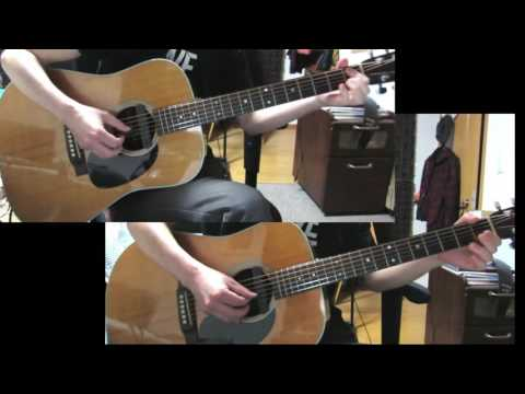 """ELM"" acoustic guitar duo cover -from COWBOY BEBOP-"