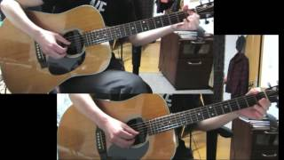 """ELM"" acoustic guitar duo cover -from COWBOY BEBOP-"