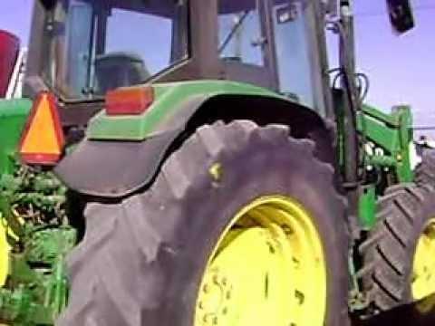 mov00531 tractor john deere 6310 4x4 con pala 640 barato - youtube