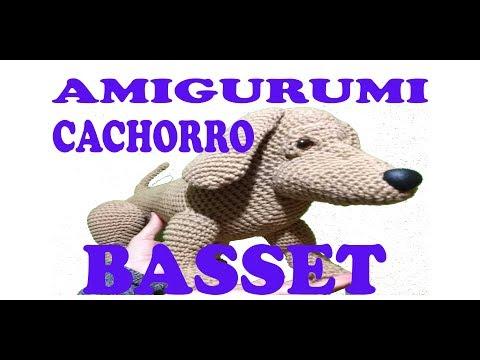 Basset Hound Puppy Amigurumi Crochet Dog Pattern PDF Doll not | Etsy | 360x480