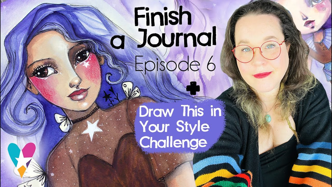 Download Draw This in Your Style + Finish A Journal - Ep 6 - with Tamara Laporte