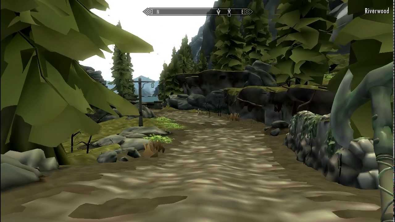 Skyrim Ultra Low Graphics Mod Huge Performance Increase
