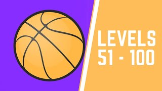 Five Hoops Game Walkthrough Level 51-100
