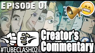 """Paluten und sein Nippel"" #TubeClash02 CREATORS COMMENTARY [Episode 01]"