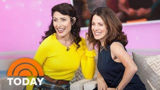 Lisa Edelstein And Alanna Ubach Talk About Girlfriends Guide To Divorce TODAY
