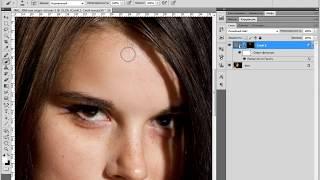 Быстрая ретушь кожи в Photoshop