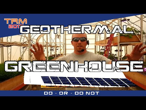 Help Wanted - Heating & Cooling a Greenhouse with Geothermal?