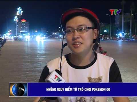 Những nguy hiểm từ trò chơi Pokemon Go