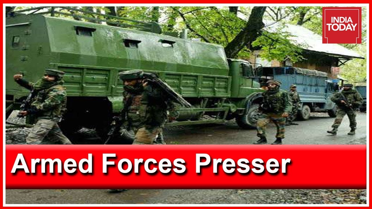 Army, J&K Police To Hold Joint Press Briefing In Srinagar After Death Of Jaish Commander