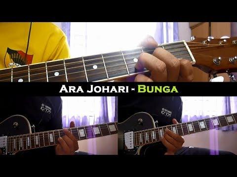 Ara Johari - Bunga (Instrumental/Chord/Guitar Cover)