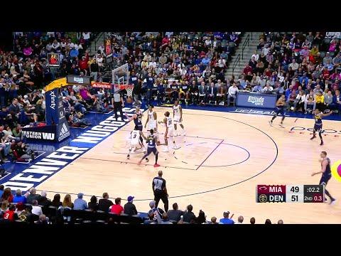 2nd Quarter, One Box Video: Denver Nuggets vs. Miami Heat