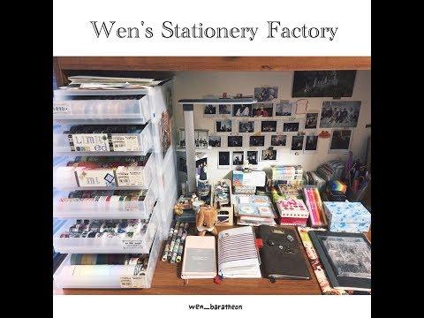 【文具控的書桌大揭密】跟著Wen來認識手帳的世界!