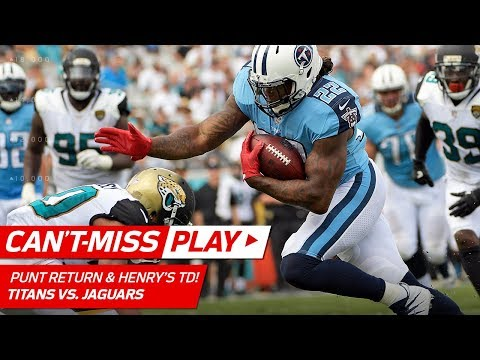 Derrick Henry's Beastly TD Set Up by Adoree' Jackson's Huge Punt Return | Can't-Miss Play | NFL Wk 2
