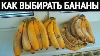 как выбрать бананы!!!
