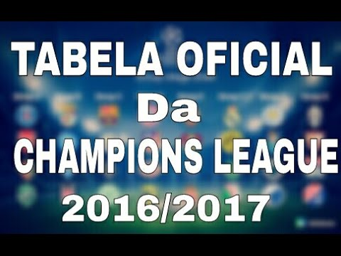 Tabela chapions league